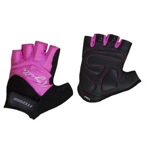 Dámske rukavice na kolo Rogelli DOLCE, ružové 010.613., Rogelli