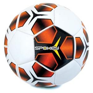 Spokey HASTE futbalový lopta veľ. 5, červeno-čierny, Spokey
