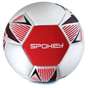 Spokey OVERACT futbalový lopta veľ. 5, červený, Spokey