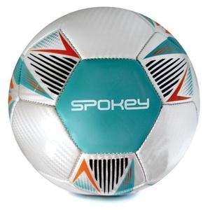 Spokey OVERACT futbalový lopta veľ. 5, tyrkysový, Spokey