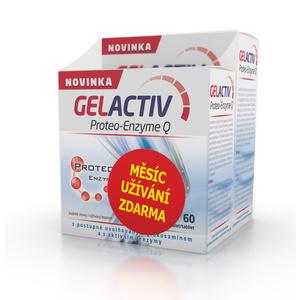 Salutem GelActiv Proteo-Enzyme Q 120+60 tbl. ZADARMO, Salutem