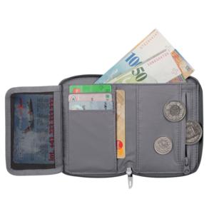 Peňaženka MAMMUT Zips Wallet Black 0001, Mammut