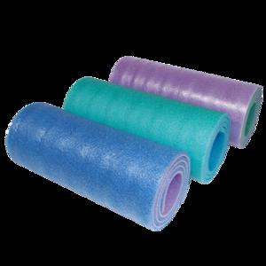 Karimatka YATE dvojvrstvová 12 SOFT FOAM modrá, zelená, ružová, Yate