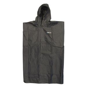 Pláštenka TREKMATES Essential Poncho čierna, TrekMates