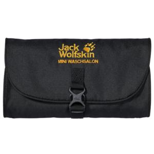 Taštička JACK WOLFSKIN Mini Waschsalon čierna, Jack Wolfskin