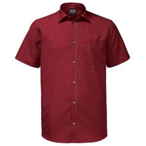 Košeľa JACK WOLFSKIN El Dorado Shirt Men červená, Jack Wolfskin