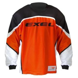 golmanský dres EXEL S60 GOALIE JERSEY junior orange / black, Exel
