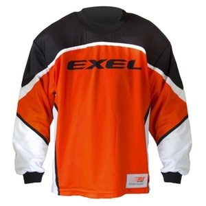 golmanský dres EXEL S60 GOALIE JERSEY senior orange / black, Exel