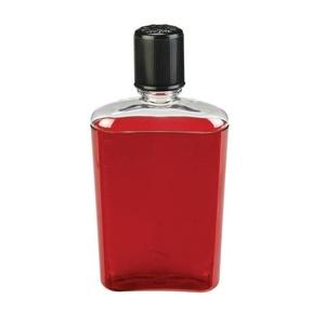 Fľaša Nalgene Flask Red with Black Cap, Nalgene