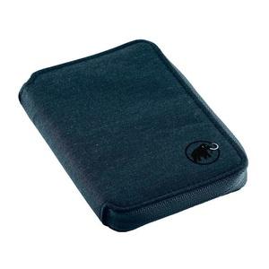 Peňaženka MAMMUT Zips Wallet melange dark chill, Mammut