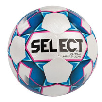 futsalový lopta Select FB Futsal Mimas Light bielo modrá, Select