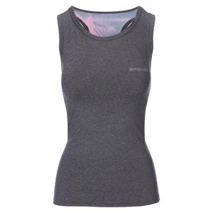 Spokey fitness top MODO šedo-ružový, Spokey