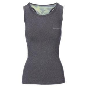 Spokey fitness top MODO šedo-zelený, Spokey