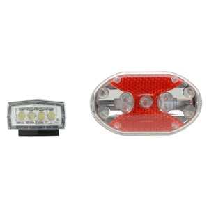 Cyklosvětlo Compass Front & Back 1+1 (4+9LED), Compass