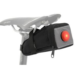Cyklotaška pod sedlo sa zadným LED svetlom Compass, Compass