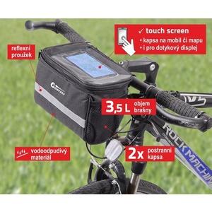 Cyklotaška na riadidlá Compass, Compass