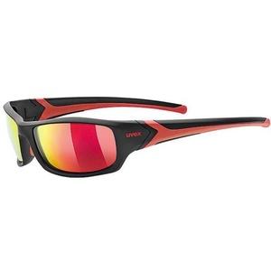 Športové okuliare Uvex Sportstyle 211 Polavision, black / mir. red (2230), Uvex