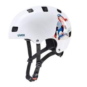 Helma Uvex Kid 3, white skate, Uvex
