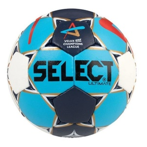 Hádzanárska lopta Select HB Ultimate Champions League Men bielo modrá, Select