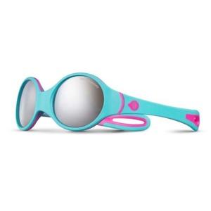 Slnečný okuliare Julbo Loop Spectron 4 Baby, rose fluo / turquoise / gris, Julbo