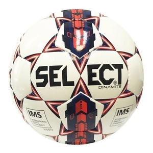 Futbalový lopta Select FB Dinamite bielo modrá, Select