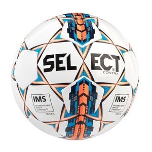 Futbalový lopta Select FB Contra biela oranžová, Select