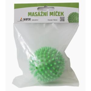 Masážny loptička Yate 70 mm zelený, Yate
