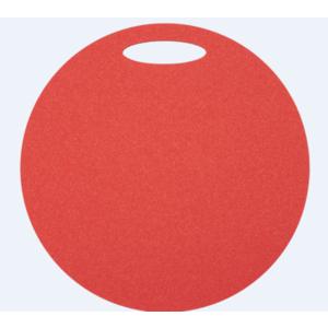 Sedadlo Yate guľaté 1 vrstvové priemer 350 mm červené, Yate