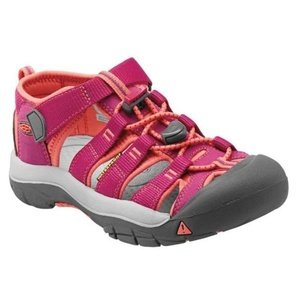 Sandále Keen NEWPORT H2 JR, very berry / fusion coral