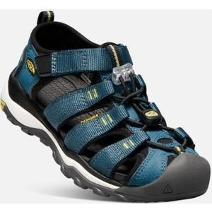 Sandále Keen NEWPORT NEO H2 JR, legion blue / moss, Keen
