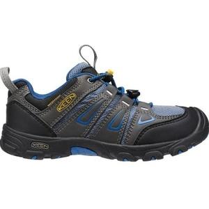 Detské topánky Keen OAKRIDGE LOW WP JR, magnet / true blue, Keen