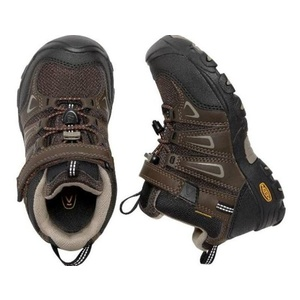 Detské topánky Keen OAKRIDGE MID WP K, cascade brown / brindle, Keen
