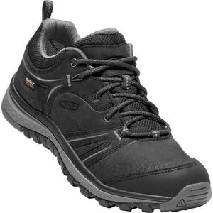 Dámske topánky Keen Terradora Leather WP W, black / steel grey, Keen