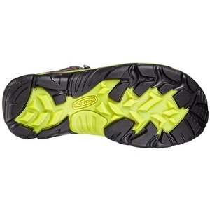 Pánske topánky Keen Wanderer MID WP W raven / bright chartreuse, Keen