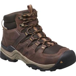 Pánske topánky Keen Gypsum II MID WP M, coffee bean / bronze mist, Keen