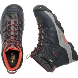 Pánske topánky Keen Gypsum II MID WP M, india ink / burnt ochre, Keen