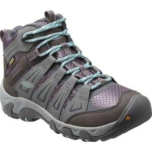 Dámske topánky Keen Oakridge MID WP W gray / shark, Keen