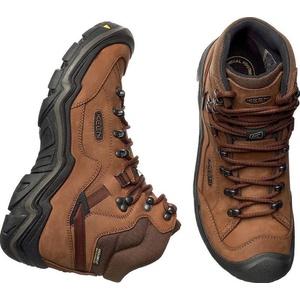 Pánske topánky Keen galleo MID WP M, cognac / dark chocolate, Keen