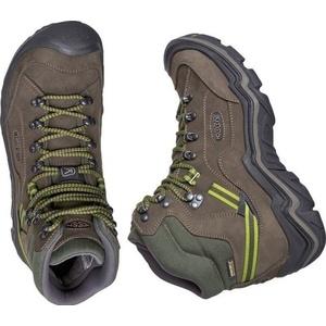 Pánske topánky Keen galleo MID WP M, black / greenery, Keen