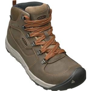 Pánske topánky Keen Westward MID Leather WP M, dark olive / rust, Keen