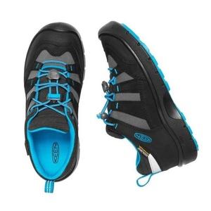 Detské topánky Keen Hikeport WP Jr, black / blue jewel, Keen