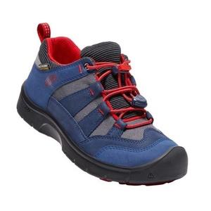 Detské topánky Keen Hikeport WP Jr, dress blues / fire red, Keen