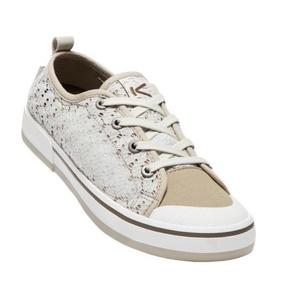 Dámske topánky Keen Elsa II Sneaker Crochet W, silver birch / canteen, Keen