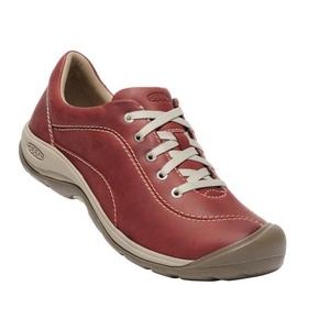 Dámske topánky Keen Presidio II W, cracker jack / plaza taupe, Keen