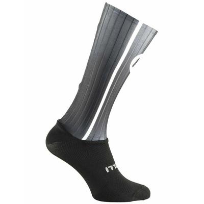 aerodynamické funkčnou ponožky Rogelli AERO, čierno-šedé 007.004, Rogelli