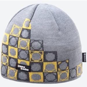 Pletená Merino čiapka Kama K57 109 svetlo sivá, Kama