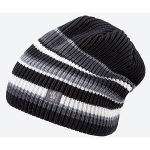 Pletená Merino čiapka Kama K58 110 čierna, Kama