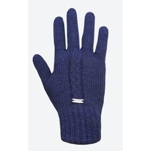Pletené Merino rukavice Kama R103 108 tmavo modrá, Kama