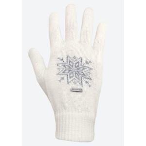 Pletené Merino rukavice Kama R104 101 prírodne biela, Kama