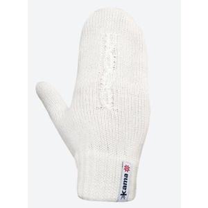 Pletené Merino rukavice Kama R105 101 prírodne biela, Kama